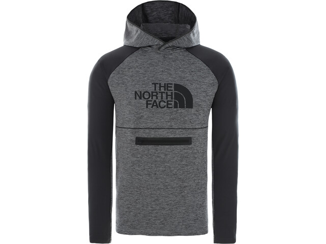 The North Face Varuna Pull-On Pull à capuche Homme, mid grey heather/asphalt grey